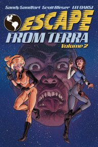 Escape From Terra Volume 2 front cover