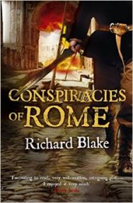 Conspiracies of Rome front cover