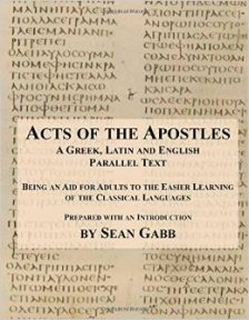 Acts of the Apostles front cover