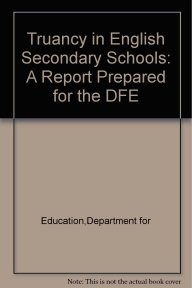 Truancy in English Secondary Schools front cover