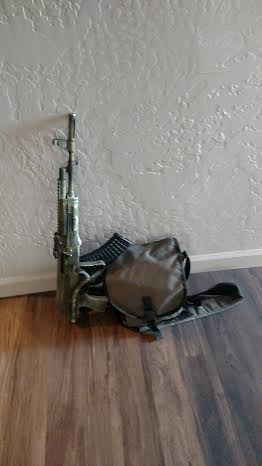 AK and Gear Bag