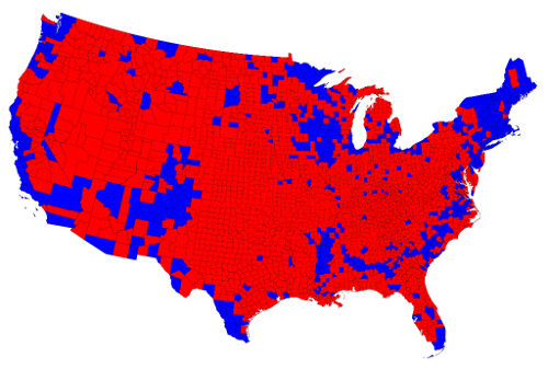 Election 2012 by County