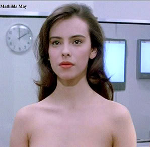 Mathilda May in Life Force