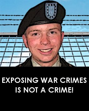 EXPOSING WAR CRIMES IS NOT A CRIME!