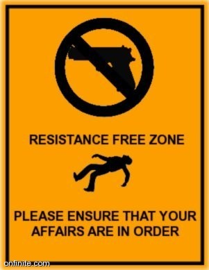 Resistance Free Zone