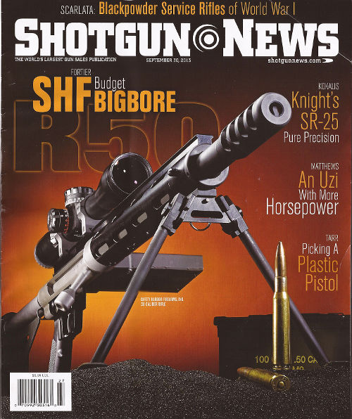 Shotgun News Sep 30, 2013 cover