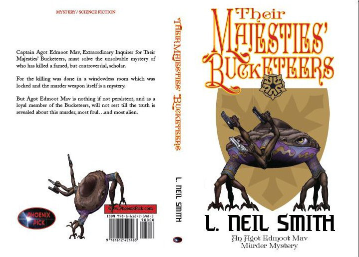 Cover for L. Neil Smith's _Their Majesties' Bucketeers_