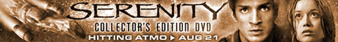 Serenity Collectors DVD Edition