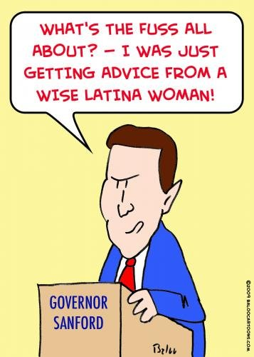 Wise Latina Woman