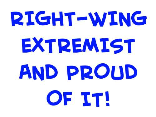 right-wing extreamist