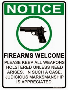 Firearms Welcome!