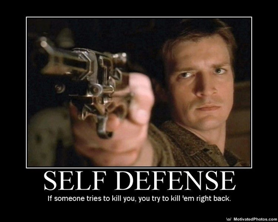 Firefly's Captain Mal Reynolds Explains Self-Defense