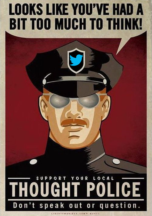 Support Your Local Thought Police (Or Not)