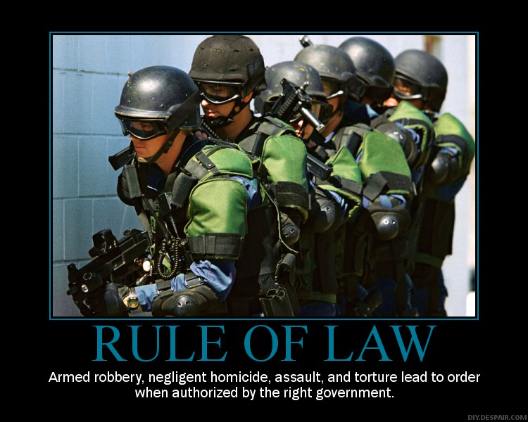 Rule of Law?