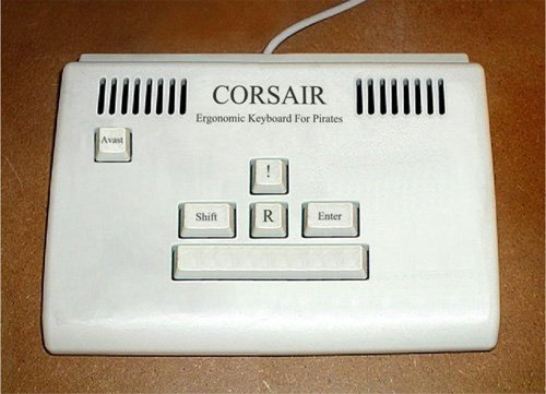 Pirate Keyboard