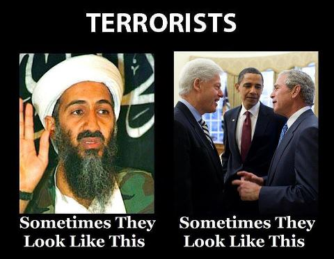 What do terrorists look like?