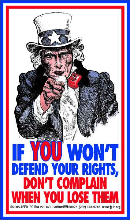 Defend Your Rights!